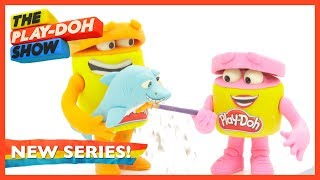Back to School, Beach Day & More Mini Episodes 🎒 Stop Motion Compilation Pt. 1 | The Play-Doh Show