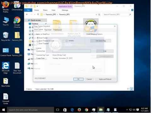 Uninstall Deep Freeze Standard on Windows 10, 8, 7, XP