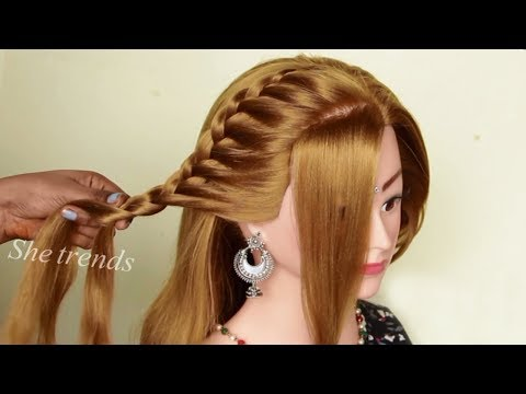 Different wedding party hairstyles ideas 2019 || hairstyle girl | easy Beautiful Hairstyles thumbnail