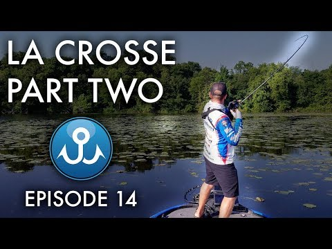 Frog Fishing Mississippi River | Elite Series La Crosse Part Two | Wheeler Fishing Episode 14