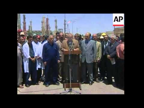 PM announces Iraq takes over oil control as of today