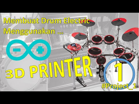 DIY MIDI DRUM ARDUINO - 10 INCH TRIGGER PAD SNARE DRUM - PART 1