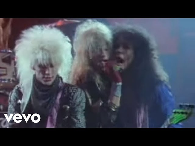 Poison - Talk Dirty To Me (Official Video)