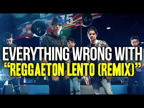 "Everything Wrong With CNCO feat. Little Mix - ""Reggaeton Lento (Remix)"""