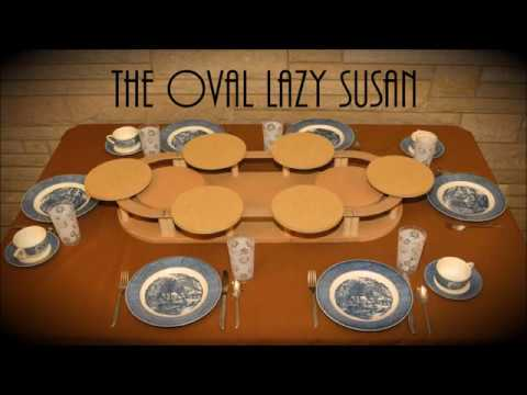 Lazy Susan For Table Magnificent The Oval Lazy Susan YouTube