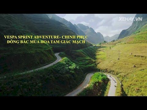 [XEHAY.VN] Vespa Sprint Adventure- Chinh phục Đông Bắc mùa hoa Tam giác mạch