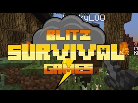 BLITZ SURVIVAL GAMES - NEW Map Caelum & Double Coin Weekend - #37