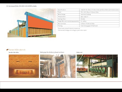 Auto Green Energy Brick Field full Automatick Brick Production line with Tunnel Kiln