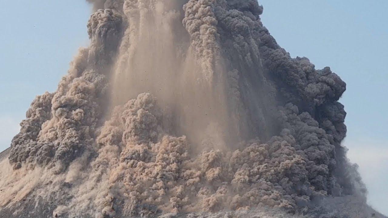 هل بدأت علامات يوم القيامة؟ ثوران أضخم بركان على الأرض !!