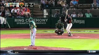 MLB: OAK AT SFN - March 27, 2015