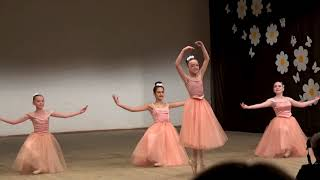 Юные балерины. Танец