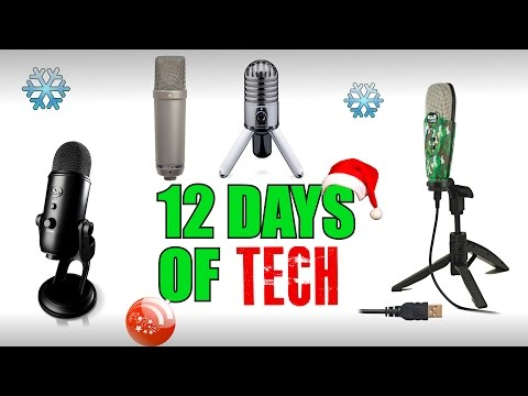 The Best Microphones | 12 Days Of Tech
