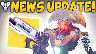 DESTINY 2 NEWS! Leaked Vex Cutscene, Class Locked Exotics, Ticket Engrams & Mercury Gameplay