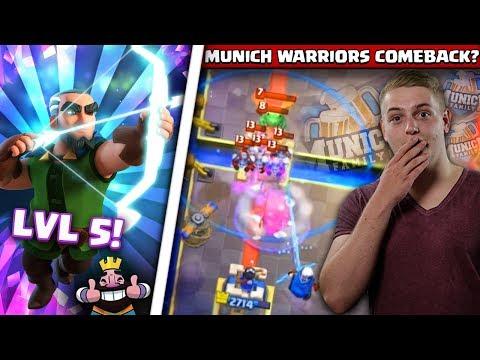 MAGIC ARCHER LEVEL 5! | Schaffe ich dadurch das Comeback in die Munich Warriors?! | Clash Royale