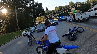 Crazy Police Chase ends in Accident | Cops vs Riders