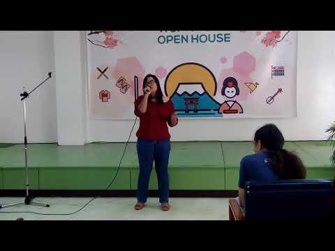 NCF PIJLC Open House Karaoke - Sora wa Toumei na Chikai