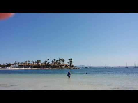 Mallorca, Alcudia Beach and Marina .