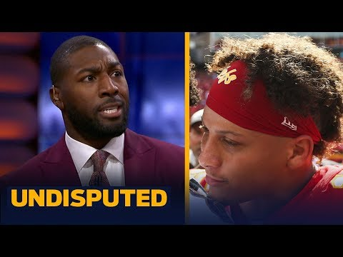 Mahomes-Lamar rivalry will never be on level of Brady-Manning rivalry — Jennings | NFL | UNDISPUTED