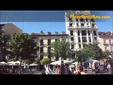 Plaza Santa Ana: Madrid, Spain 2011