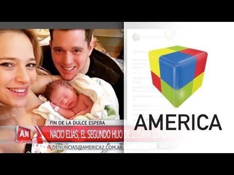 Nació Elías, el segundo hijo de Luisana Lopilato y Michael Bublé