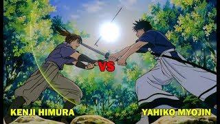 Pertarungan Kenji Himura (Anak Kenshin Himura) VS Yahiko Myojin, SAMURAI-X OVA
