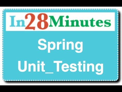 spring-unit-testing-:-with-junit-and-mockito