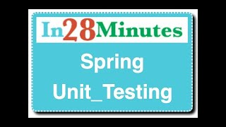 Spring Unit Testing : with JUnit And Mockito