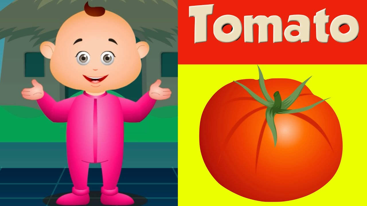 Learn Vegetables For Kids   Learn Colors And More   Colours Learning For Children - Jam Jammies