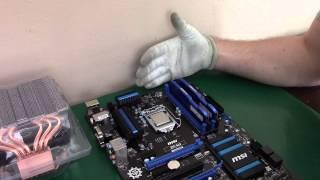 Komputer PC dla Klienta i5 GTX970 testy w Wiedźmin 3