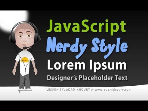 Dynamic Lorem Ipsum Placeholder Text Generator JavaScript Tutorial