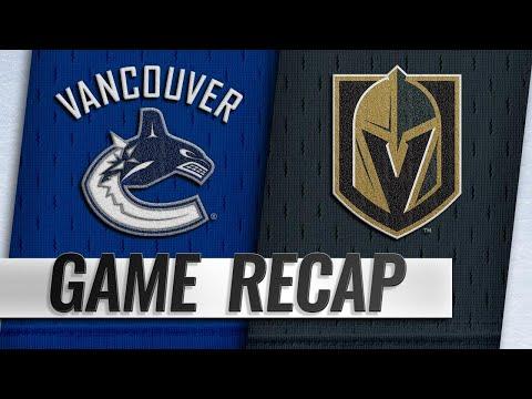 Horvat, Canucks top Vegas in shootout for 3-2 win