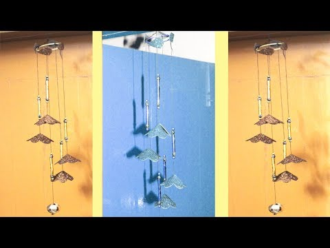 DIY Wind Chime   How to make wind chimes out of paper   Make wind chimes using paper