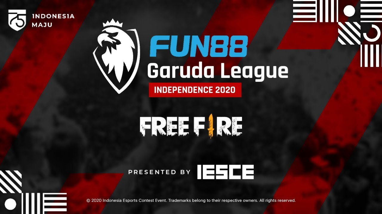 FUN88 GARUDA LEAGUE INDEPENDENCE 2020 FREE FIRE DAY 20 IESCE ESPORTS TOURNAMENT