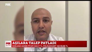 2020-09-11 - TEİS - FoxTV AnaHaber - Aşı Kuyrukları - Ecz Ali Erdem