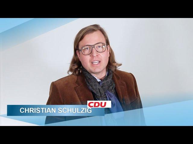Christian Schulzig: Ich unterstütze Michael Ludwig
