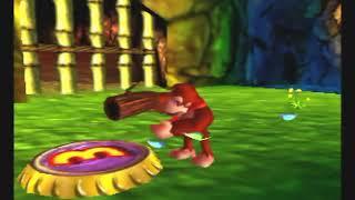 Donkey Kong 64 (N64) Gameplay