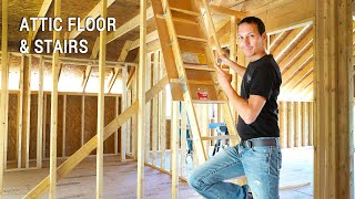 ICF Mountain Homestead: Installing Attic Stairs, Flooring and Rewiring a Circular Saw