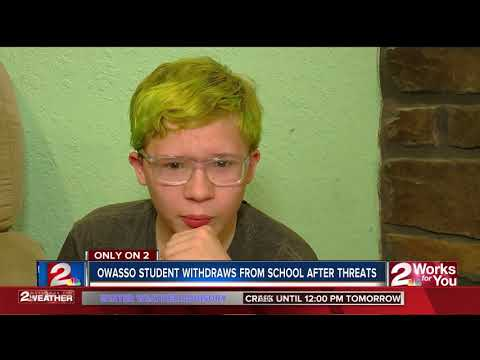 Parents withdraw son from Owasso school following death threats