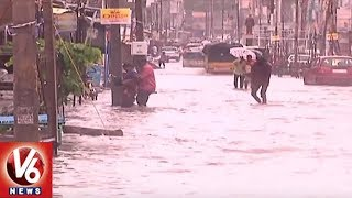 Heavy Rains Lashes North Telangana Districts, Normal Life Effected ...