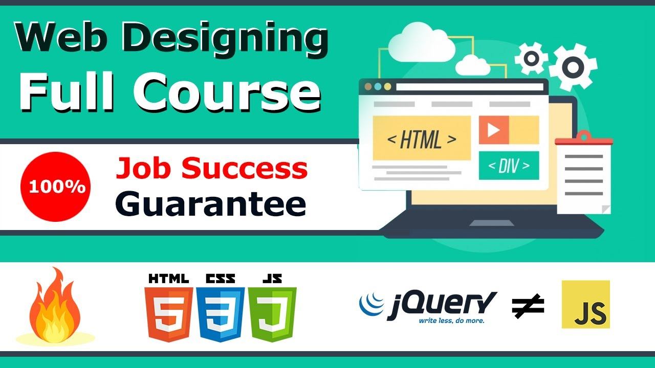 Free Web Design Full Course In Hindi 2020 Html5 Css3 Responsive Jquery Bootstrap Designing For Uncertainty