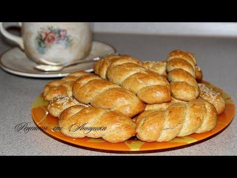 Рецепт Греческое печенье  Кулуракья. Очень вкусное.