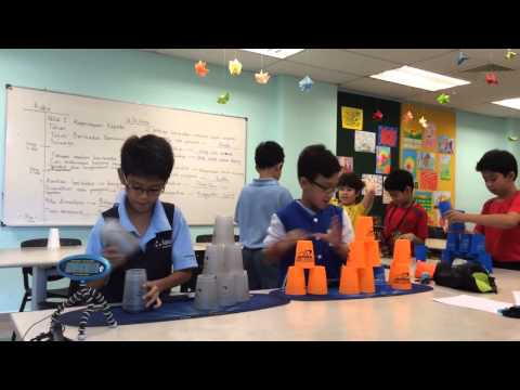 Asia Pacific School - Sport Stacking class
