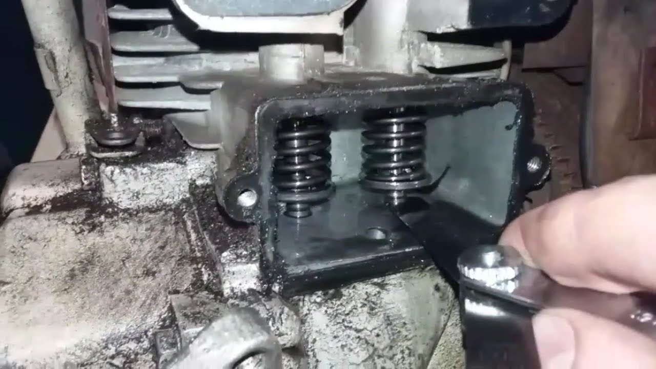 HOW TO FIX The Valve Clearance On A 4 Cycle Flat Head Engine