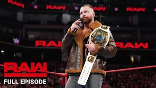 WWE Raw Full Episode, 17 December 2018