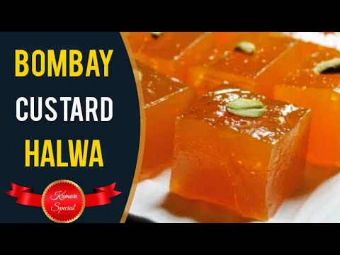 Yummy Bombay Style Custard Halwa/Corn flour halwa(வீட்டிலேயே சுவையான பாம்பே அல்வா செய்வது எப்படி ?)