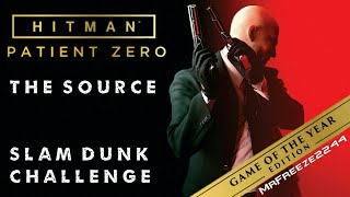 Walkthrough for the Slam Dunk challenge in the first bonus Game of The Year edition Patient Zero campaign missions called The Source Hitman - Patient Zero ...