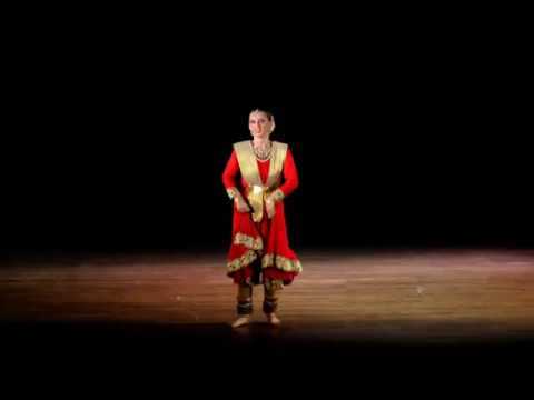 Nathalie Masson Kathak at Satyajit Ray Auditorium (Ashtamangal taal, Lagi Lagan, Teental)