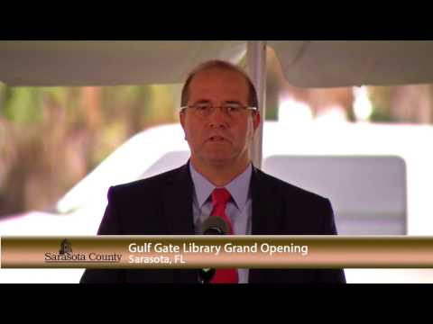 Gulf Gate Library Ribbon Cutting /Sarasota County Government