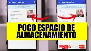 3 TRUCOS PARA DUPLICAR EL ALMACENAMIENTO DEL TELÉFONO SIN BORRAR NADA: Poco espacio en Android 2018