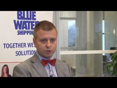 Our Head of Sales in Finland - Ville Sulonen  - about Blue Water Shipping in Finland